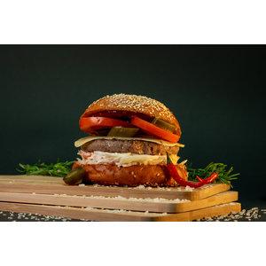 Hot & Smokey Burger