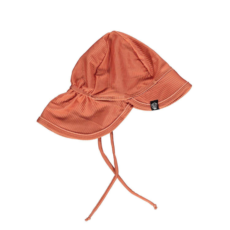 CLAY RIBBED HAT-1