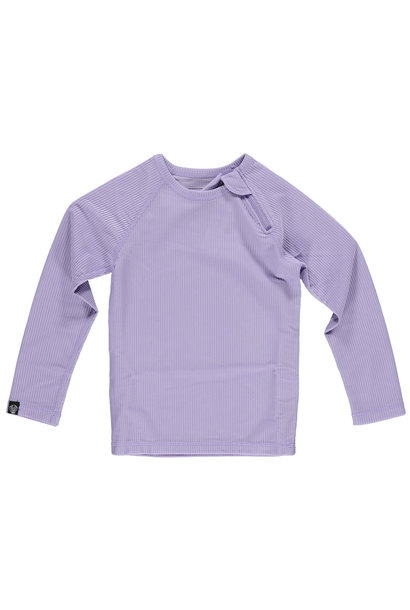 LAVENDER RIBBED TEE