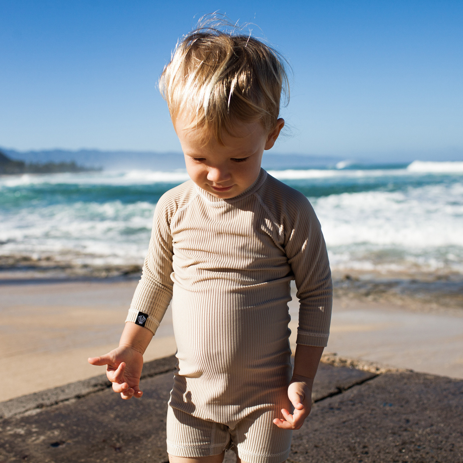 SAND RIBBED BABY-2