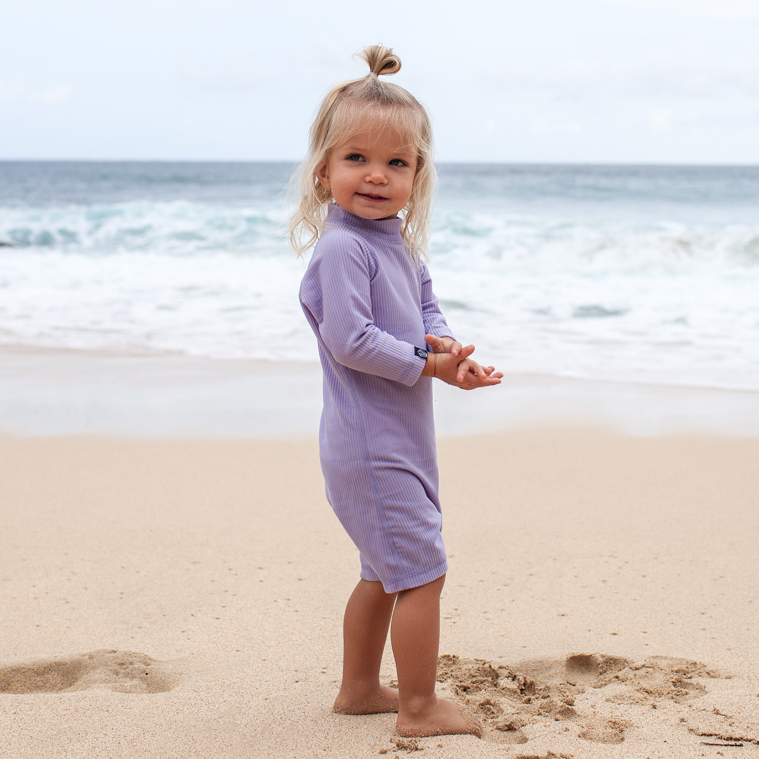 LAVENDER RIBBED BABY-2