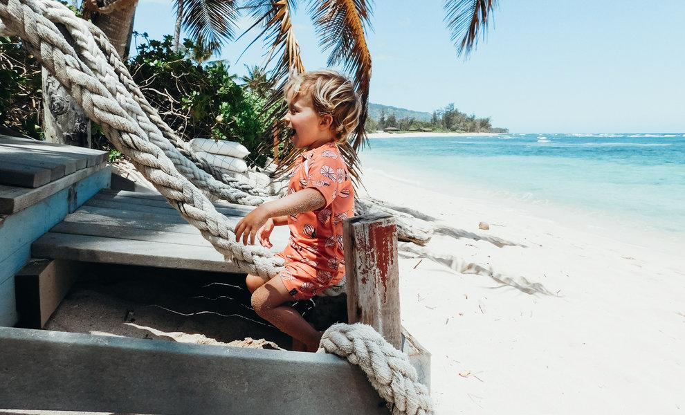 A DAY AT THE BEACH WITH @aloha_aukje