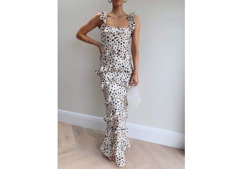 PRETTY LAVISH Pretty Lavish Cecile Ruffle Maxi Dress