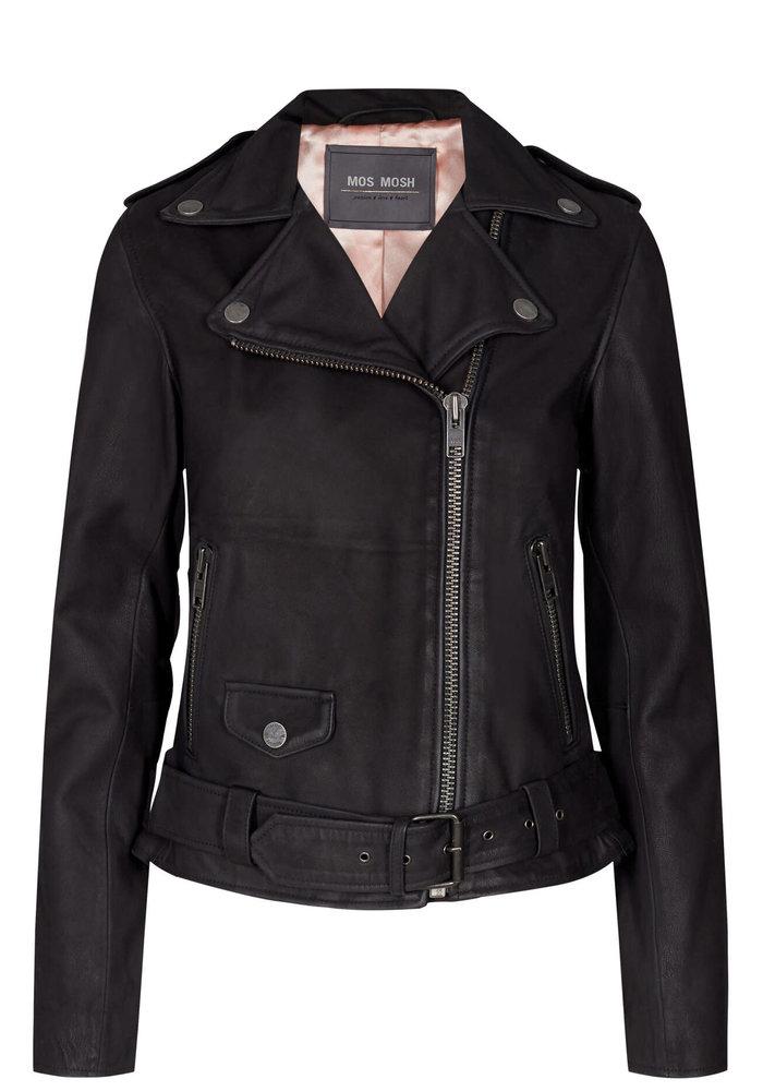 Mos Mosh Cecily Nubuck Biker Jacket