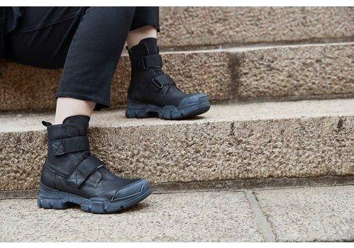 LOFINA Lofina Chunky Double Strap Boots