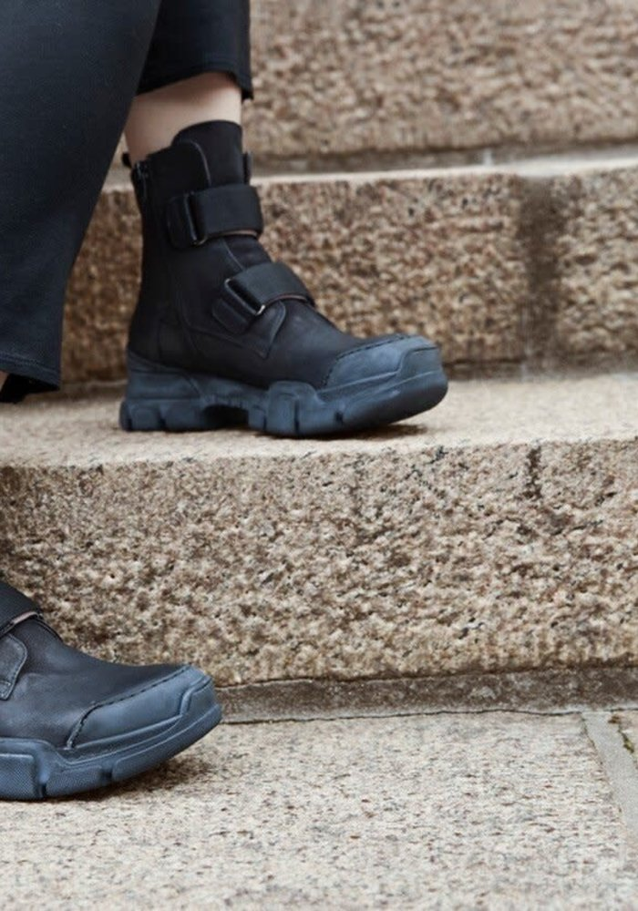 Lofina Chunky Double Strap Boots