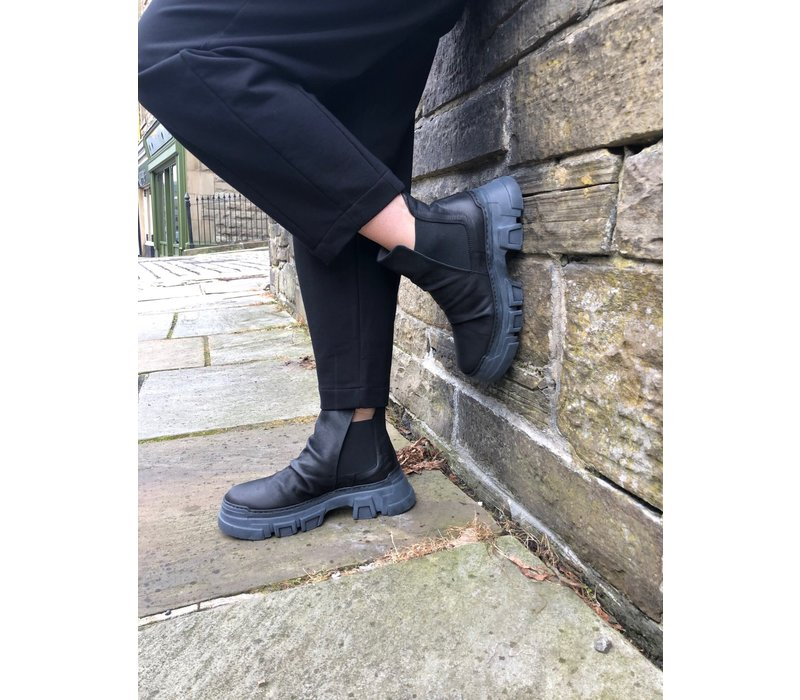 Lofina Ruched Chelsea Boots