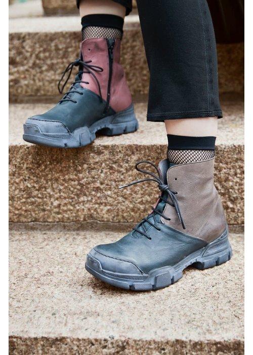 LOFINA Lofina Tri Colour Leather Boots