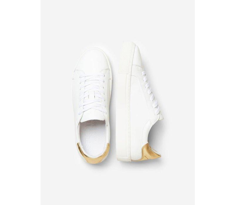 Selected Femme Contrast Heel Trainers