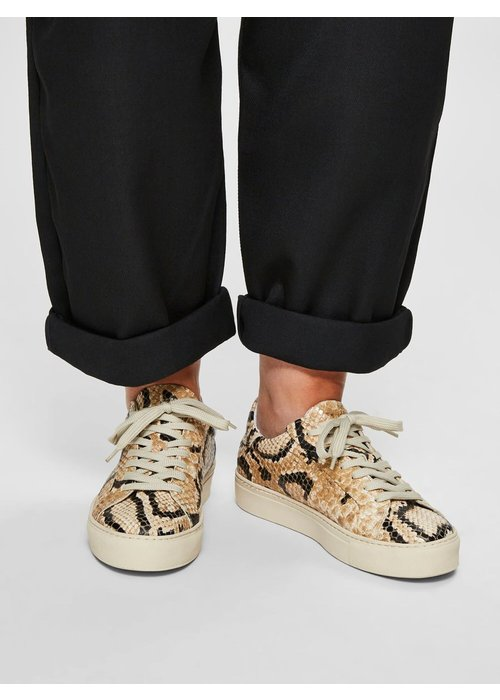 SELECTED FEMME Selected Femme Faux Snake Trainers