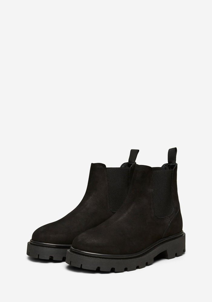 Selected Femme Femma Suede Chelsea Boots