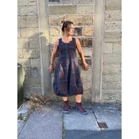 Rundholz Black Label Tartan Sleeveless Dress