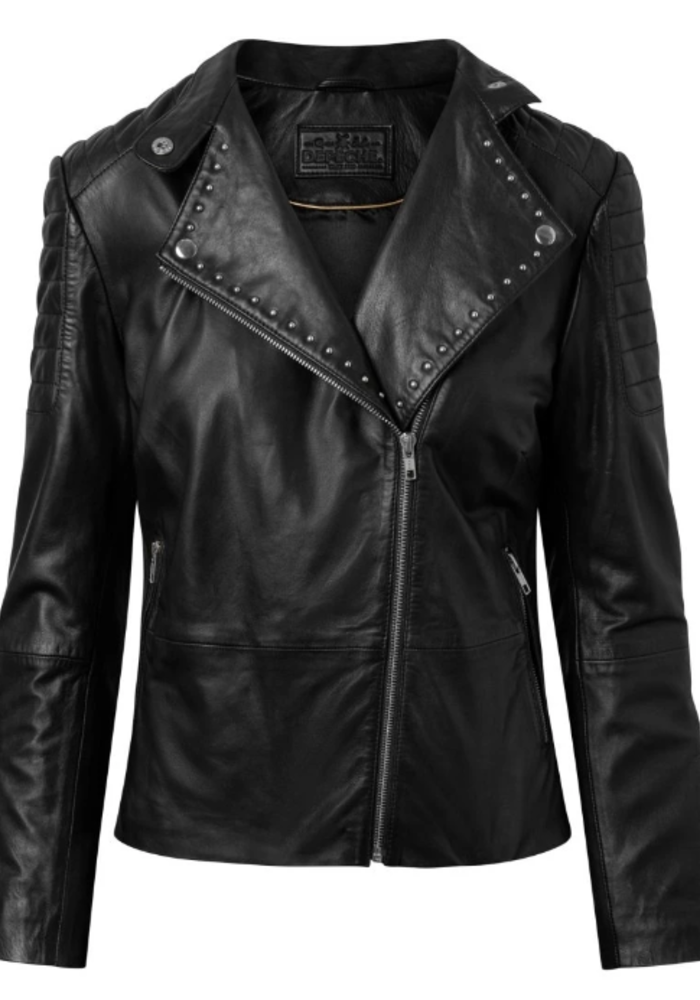 Depeche Studded Leather Jacket