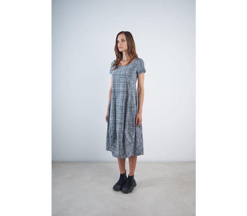 Rundholz Black Label Short Sleeve Check Dress