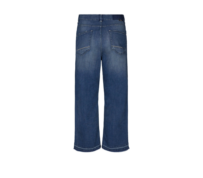 Mos Mosh Bailey Cropped Wide Jeans