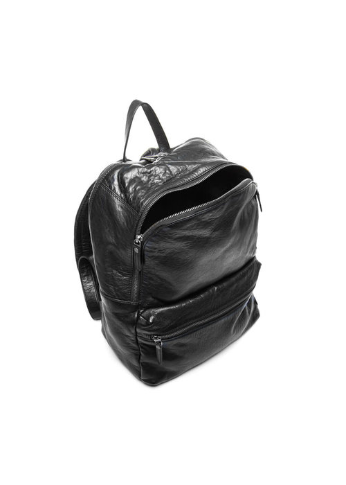 DEPECHE Depeche Leather Backpack