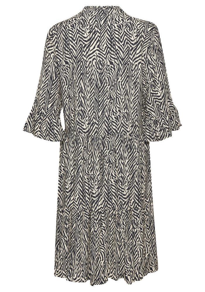 Saint Tropez Eda Zebra Print Dress