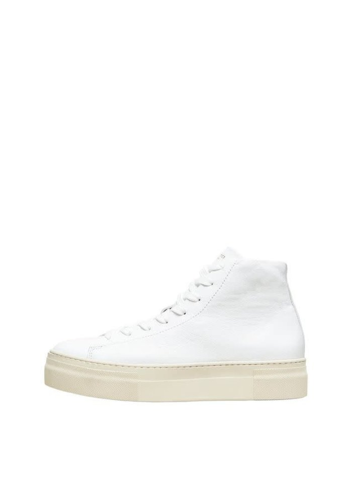 Selected Femme Hailey High Top Trainers