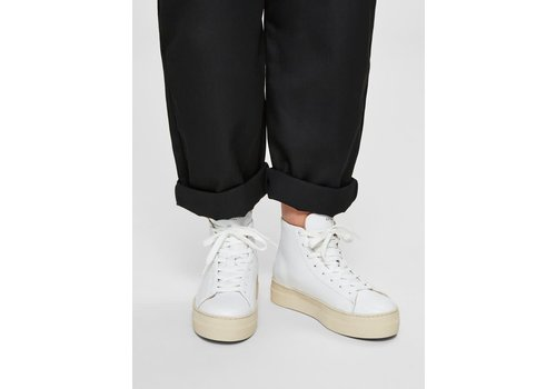 SELECTED FEMME Selected Femme Hailey High Top Trainers