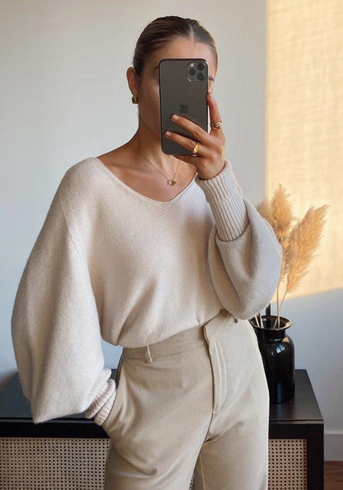 Charli Cropped Siena Sweater