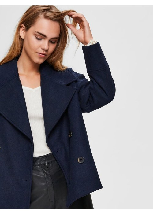 SELECTED FEMME Selected Femme Cropped Wool Jacket