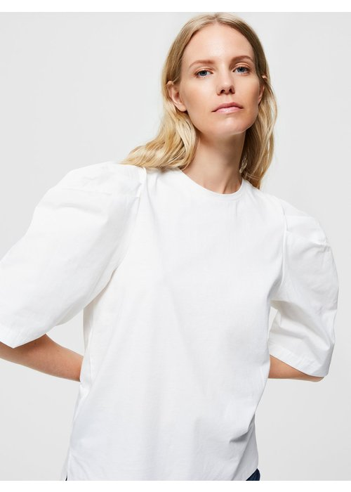 SELECTED FEMME Selected Femme Puff Sleeve T-shirt