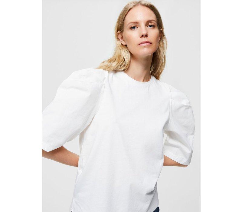 Selected Femme Puff Sleeve T-shirt