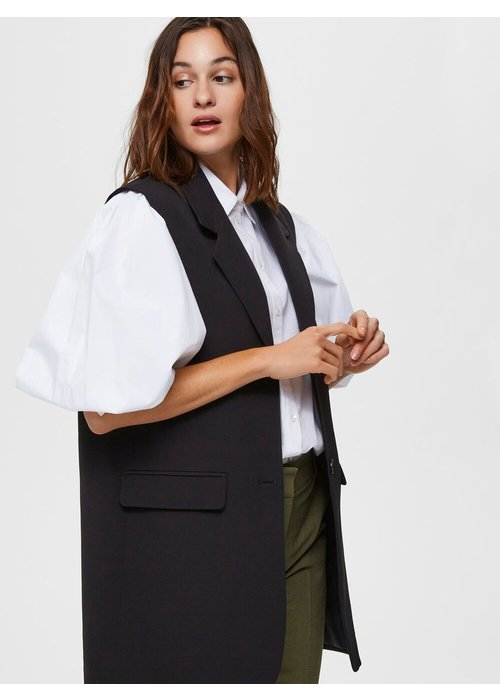 SELECTED FEMME Selected Femme Long Relaxed Fit Waistcoat