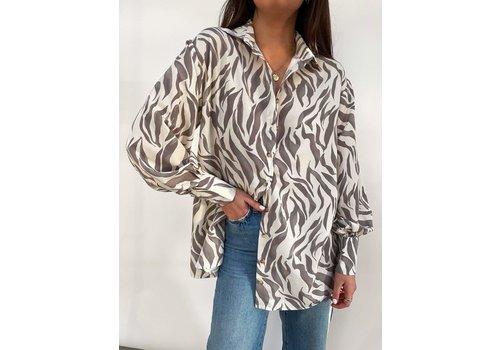 PRETTY LAVISH Pretty Lavish Otis Zebra Shirt