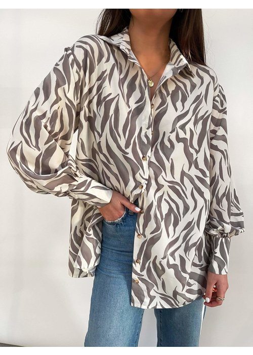 PRETTY LAVISH Pretty Lavish Otis Zebra Shirt