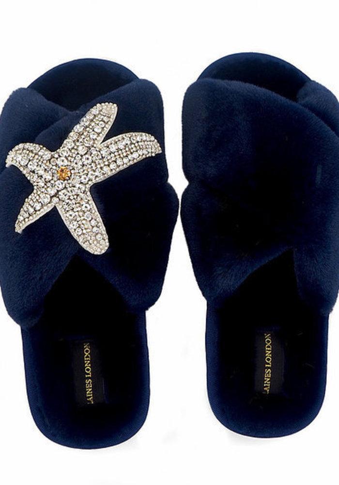 Laines London Starfish Slippers