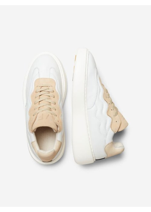 SELECTED FEMME Selected Femme Chunky Leather Trainers
