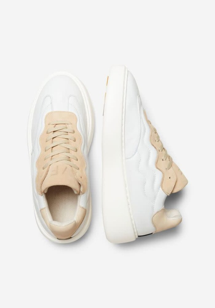 Selected Femme Chunky Leather Trainers