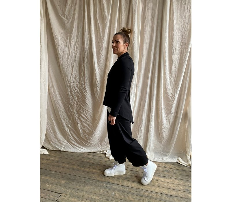 Mama B Bianco Pull On Trousers
