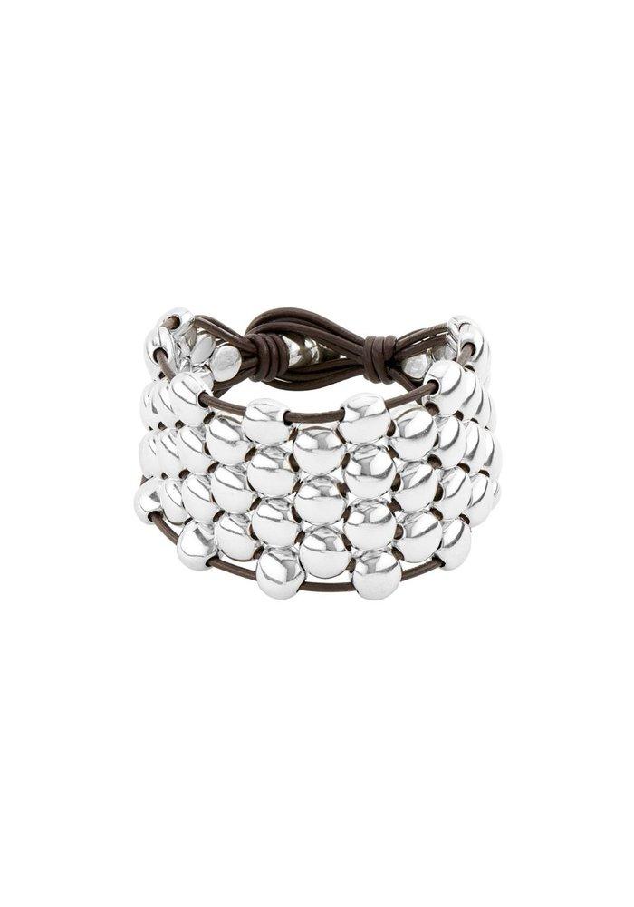 """Uno De 50 """"Emotions"""" Leather Bracelet"""