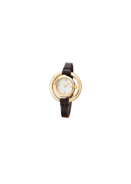 """UNO DE 50 Uno De 50 """"Time After Time"""" Leather Watch"""