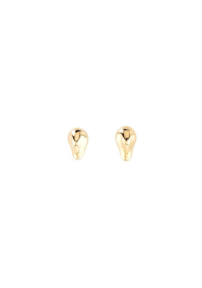 "Uno De 50 ""My Other Half"" Gold Earrings"