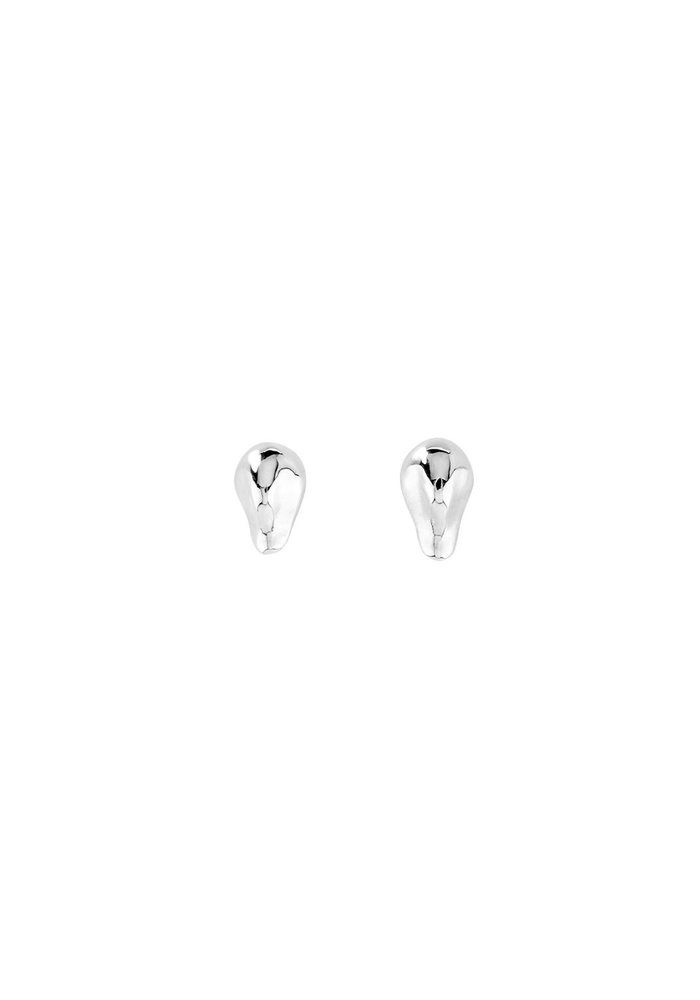"""Uno De 50 """"My Other Half"""" Silver Earrings"""