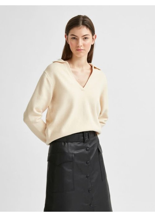 SELECTED FEMME Selected Femme Soft Polo Knit