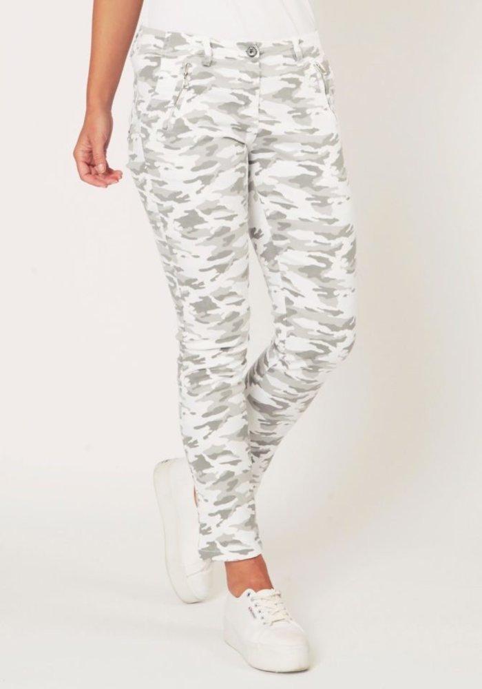 Suzy D Camouflage Combat Pants