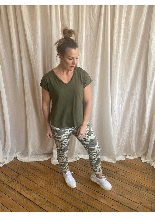 SUZY D Suzy D Camouflage Combat Pants