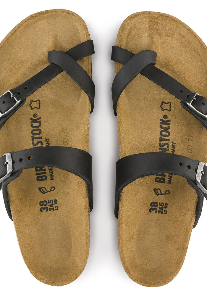 Birkenstock Mayari Oiled Leather Sandals