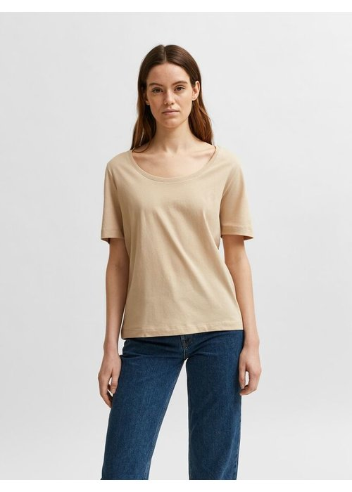 SELECTED FEMME Selected Femme Crew Neck T-Shirt