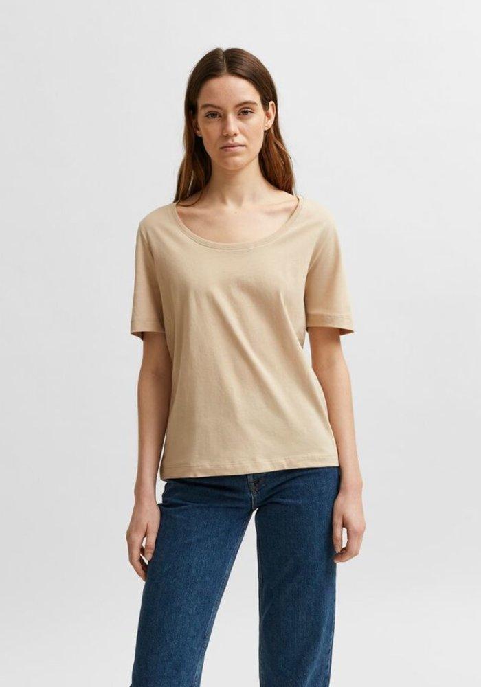Selected Femme Crew Neck T-Shirt