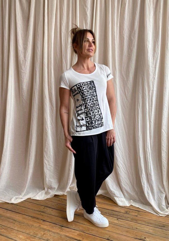 Rundholz Black Label Printed Short Sleeve T-shirt