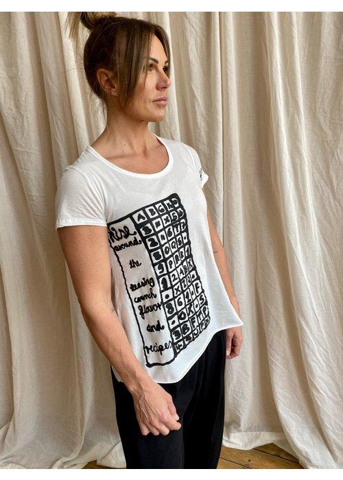 RUNDHOLZ BLACK LABEL Rundholz Black Label Printed Short Sleeve T-Shirt