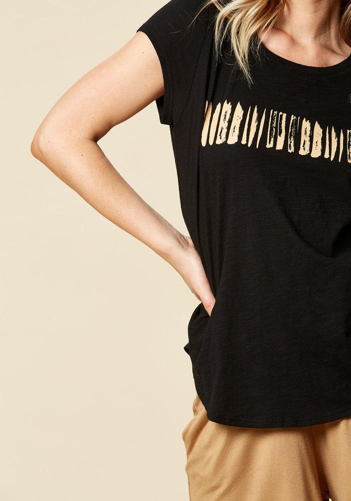 Eb & Ive Kaveri Printed T-shirt