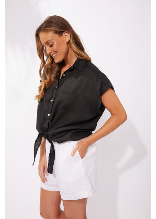 HAVEN Haven Palma Tie Knot Shirt