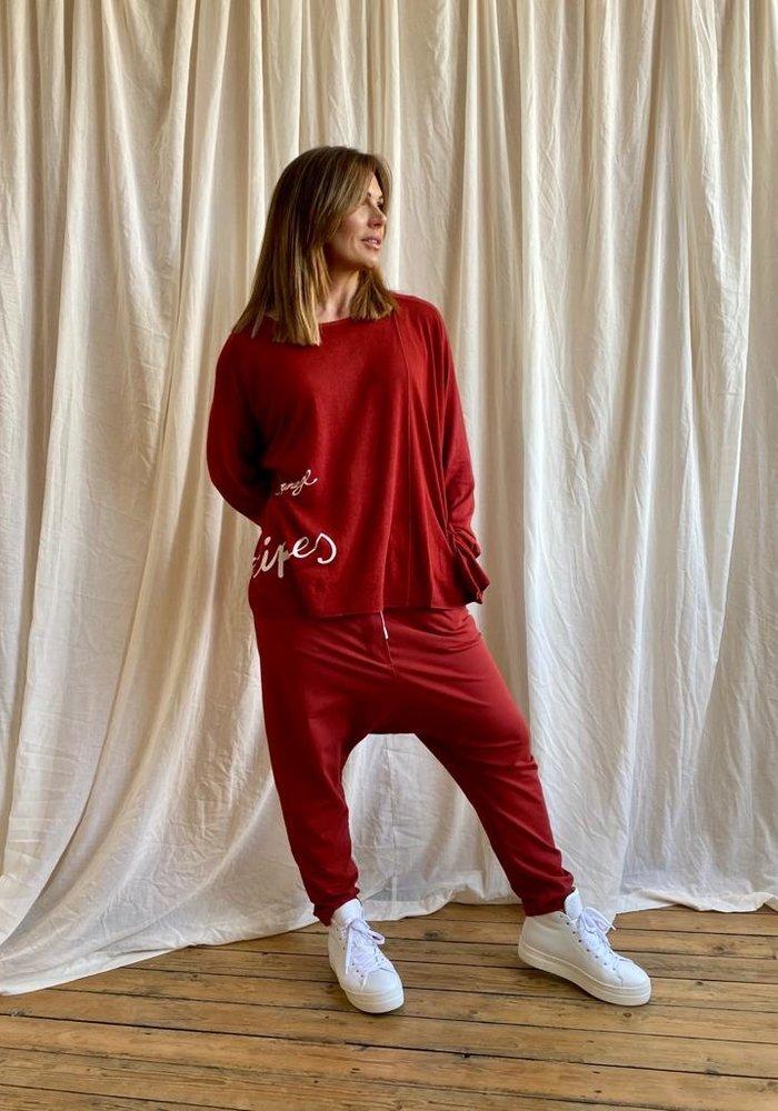 Rundholz Black Label Dip Side Knit Pullover