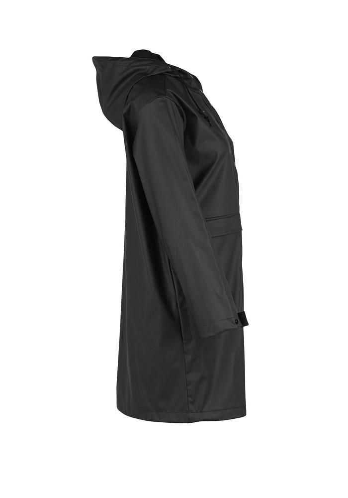Saint Tropez Rubberised Hooded Raincoat